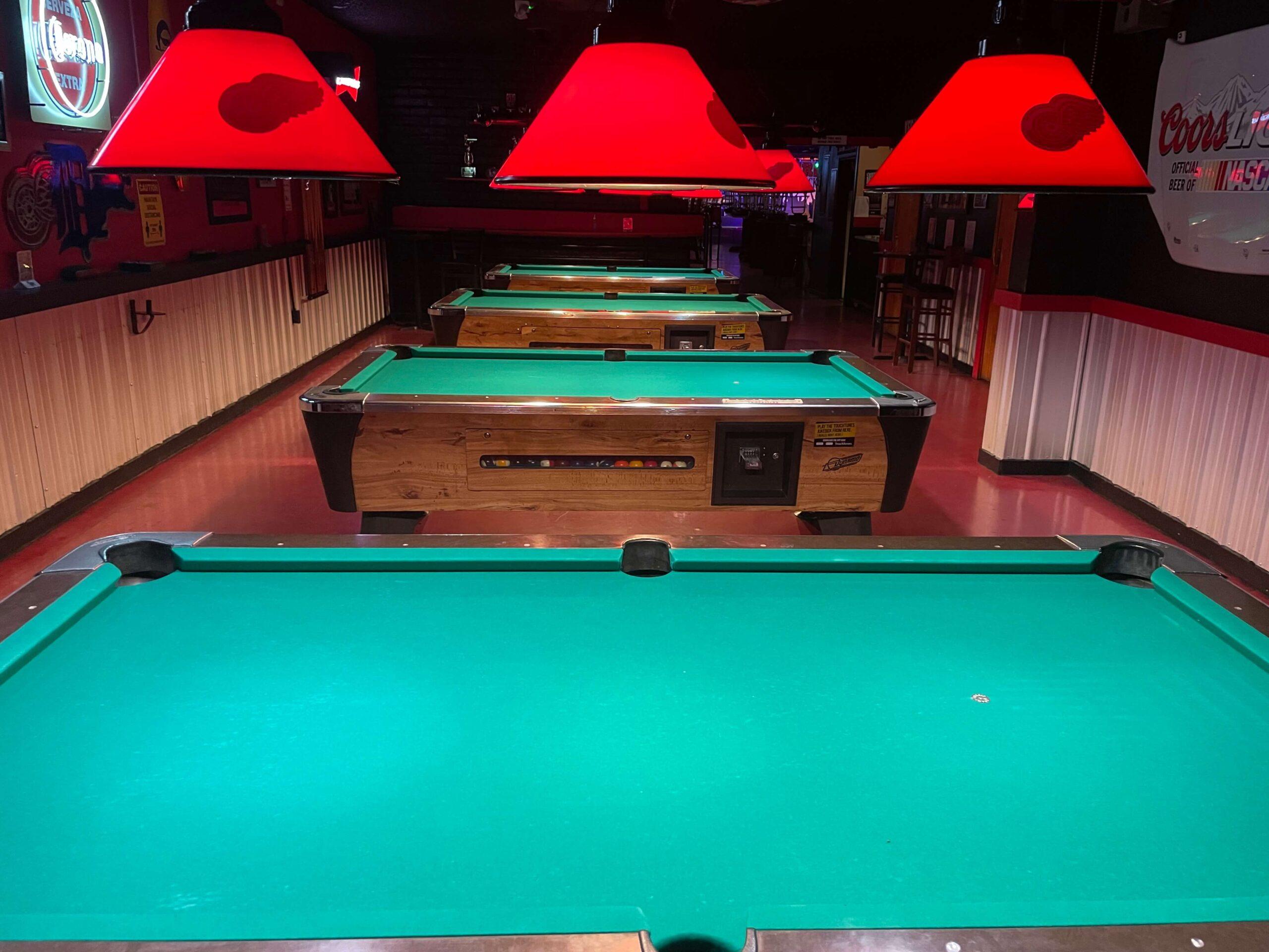 Pools Tables 2