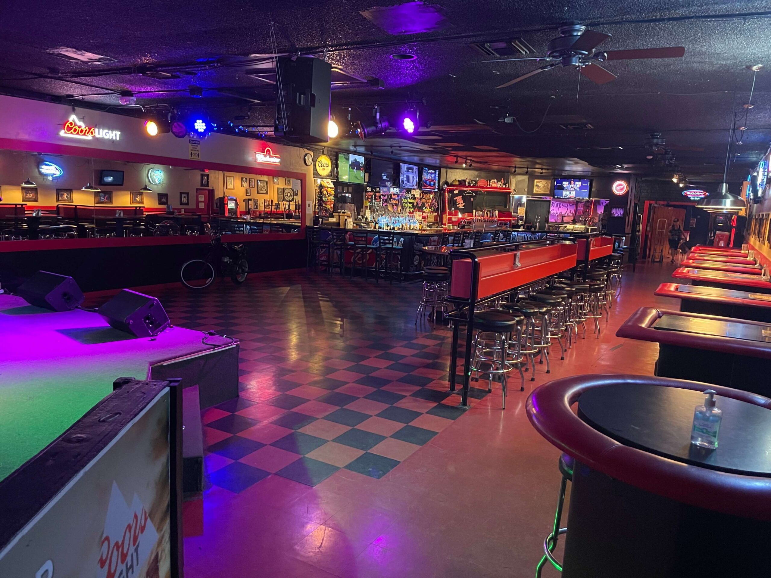 Stage Bar Tables
