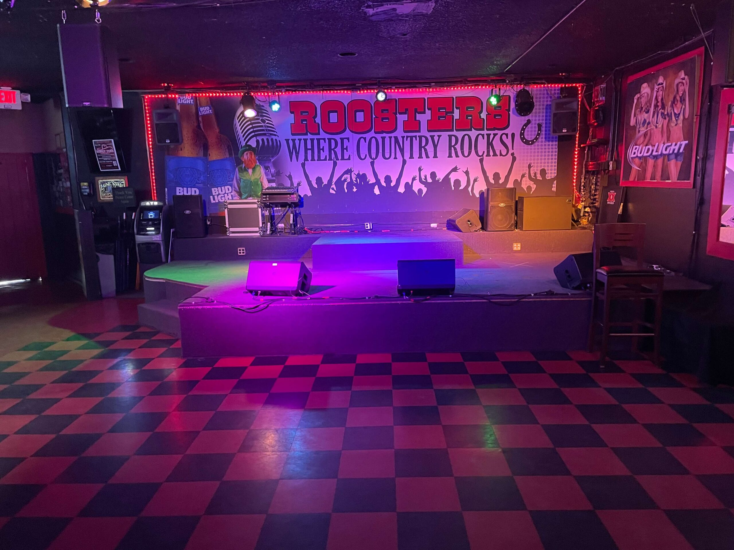 Stage with Dance Floor