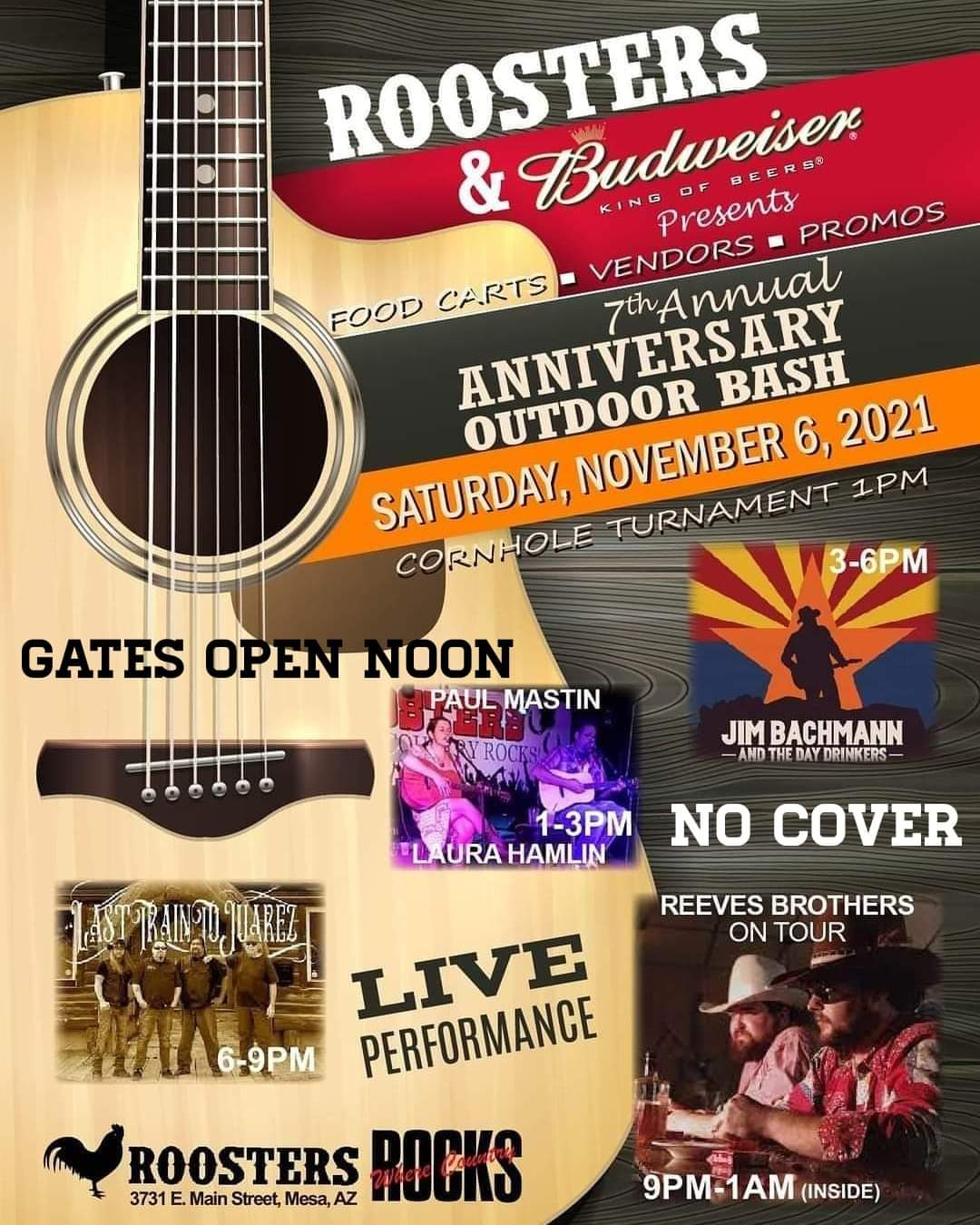 7th Annual Anniversary Outdoor Bash 4 Live Performances